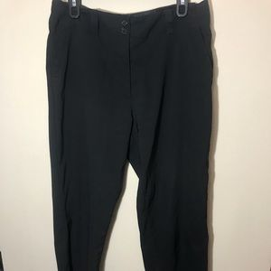 Black Straight Leg Golf Pants Nice Condition